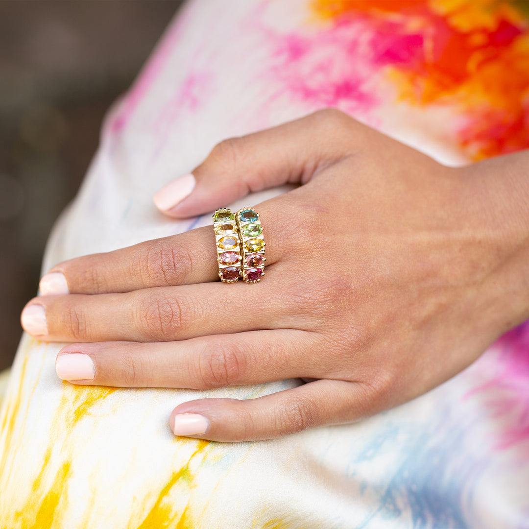 The F&B Tropical Ombre Ring