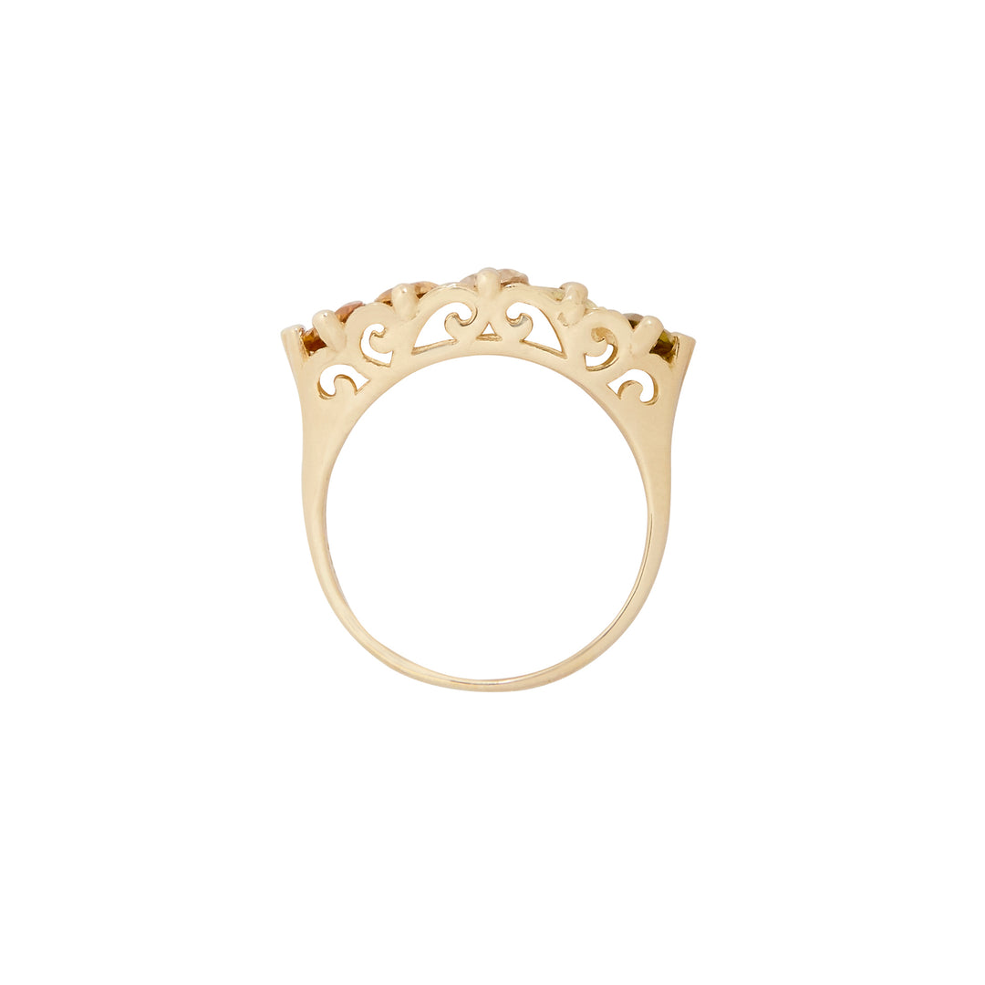 The F&B Springtime Ombre Ring