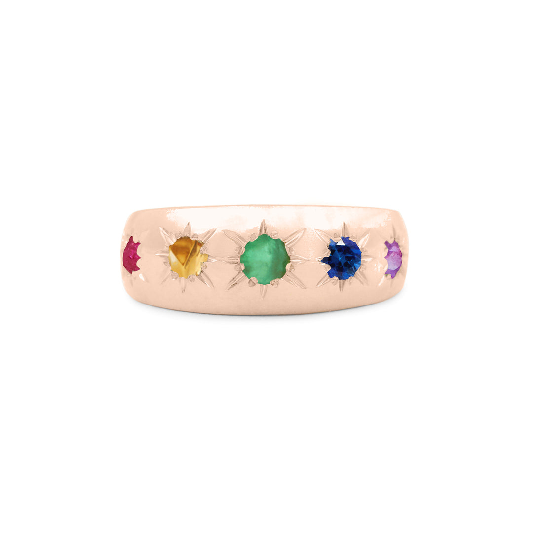 The F&B Rainbow Starburst Ring