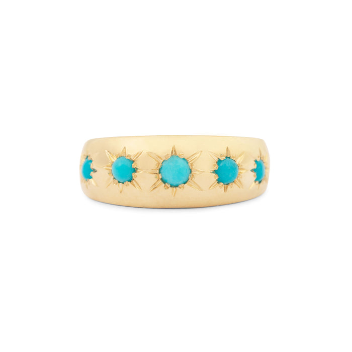The F&B Birthstone Starburst Ring