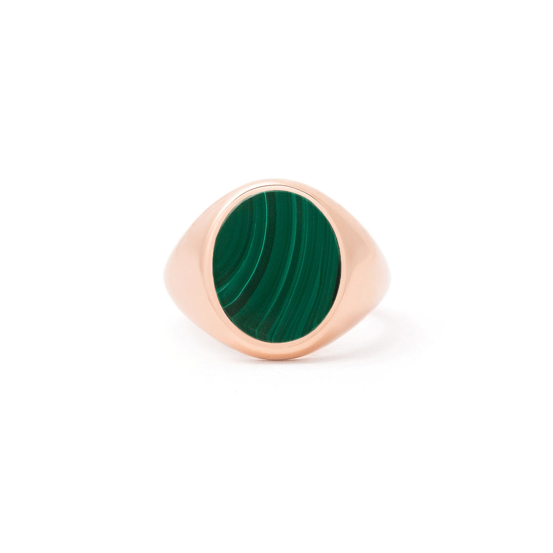 The F&B Stone Signet Ring