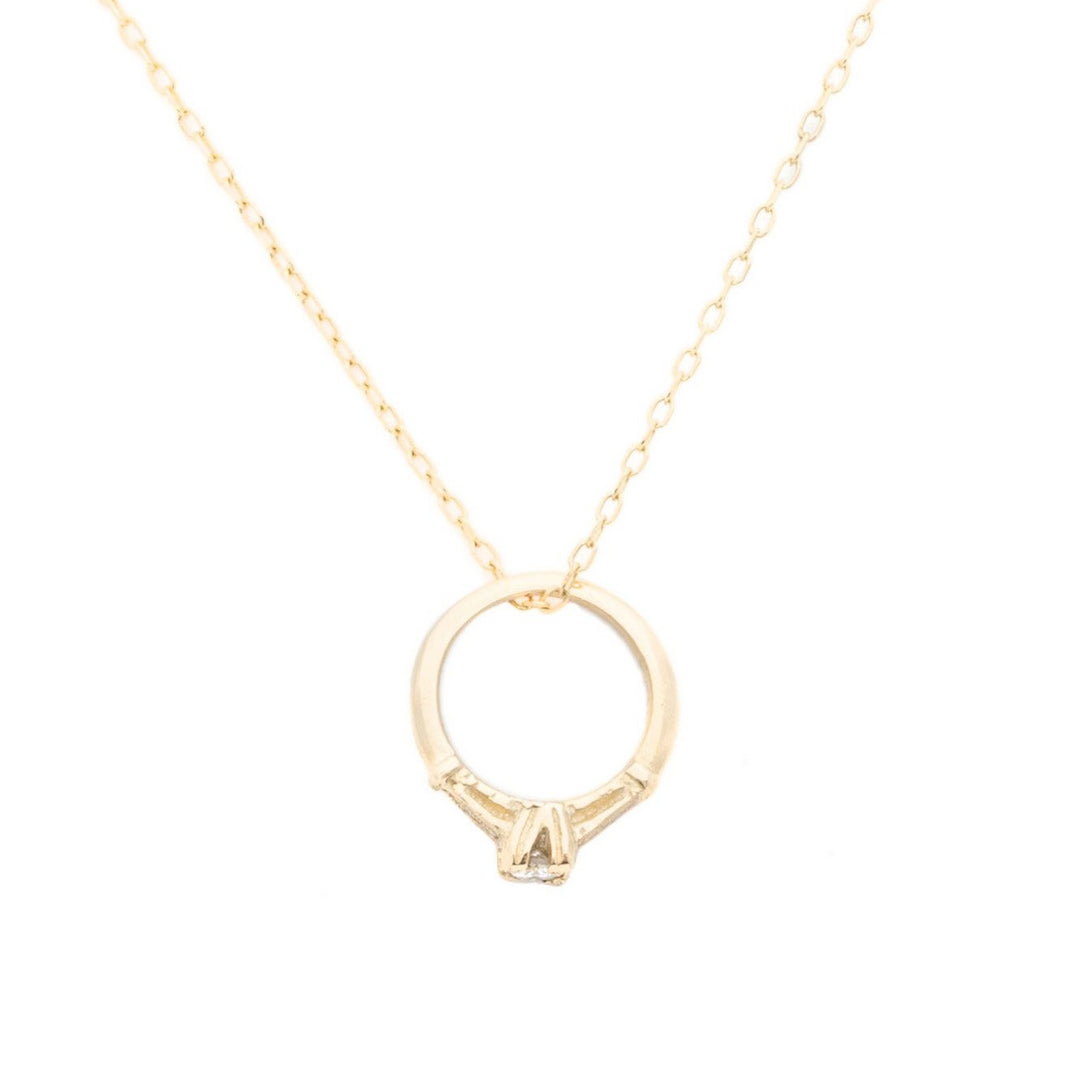 The F&B Major Mini Ring Necklace