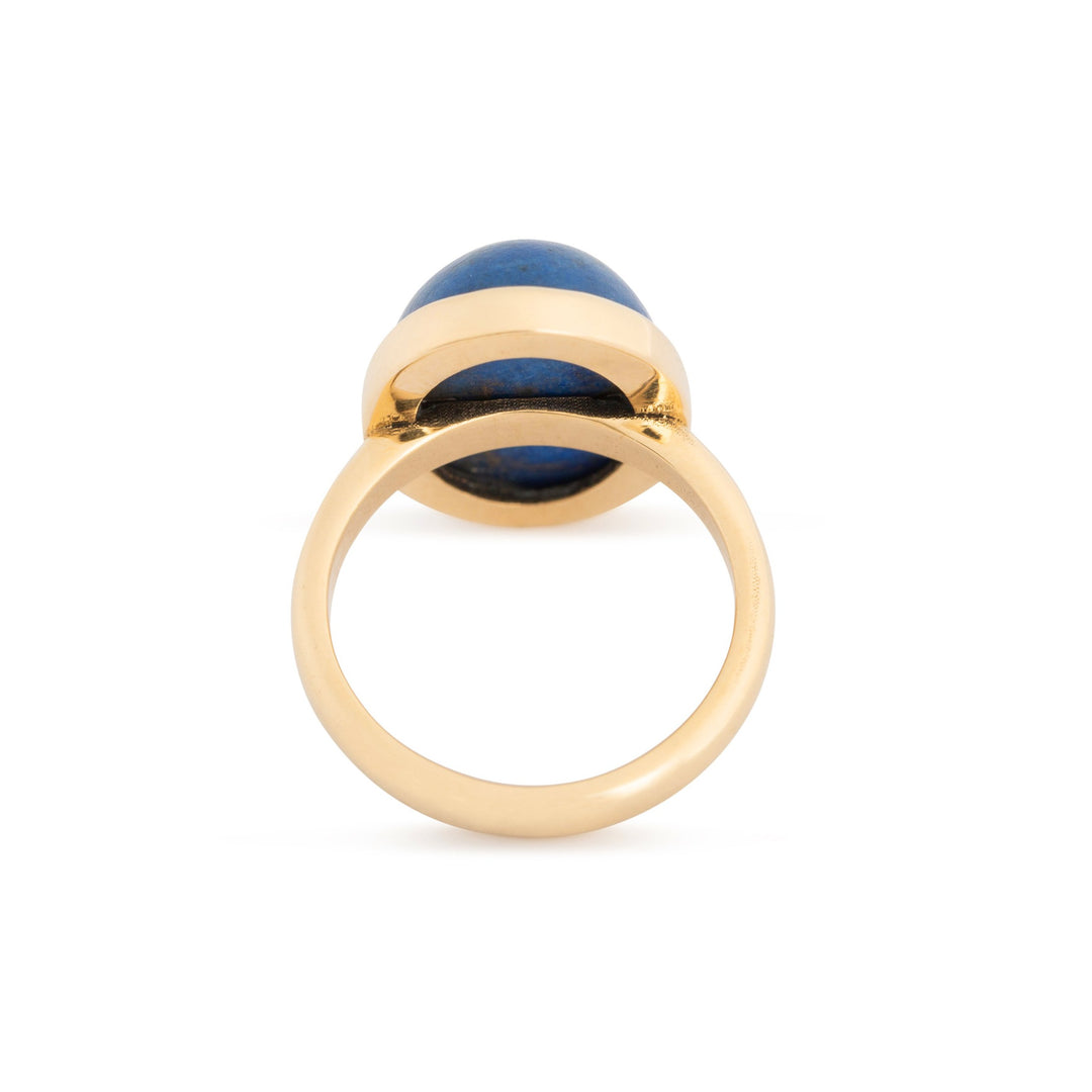 The F&B Lapis Lazuli and 14k Gold Ring