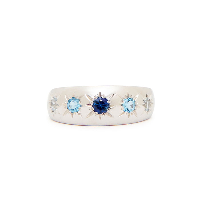 The F&B Blue Starburst Ring