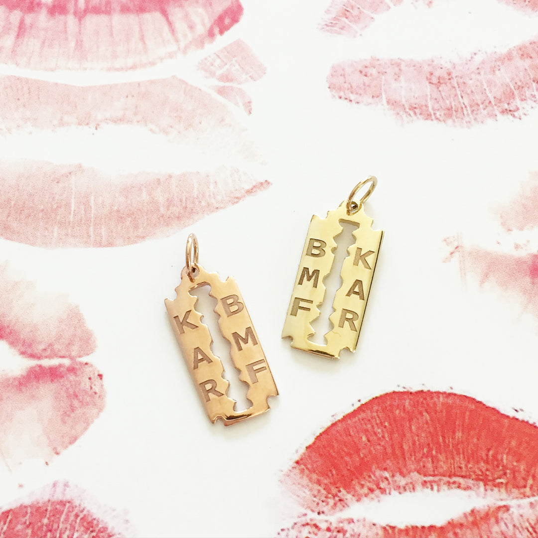 "The F&B ""Blood Sisters"" Razor Necklace"