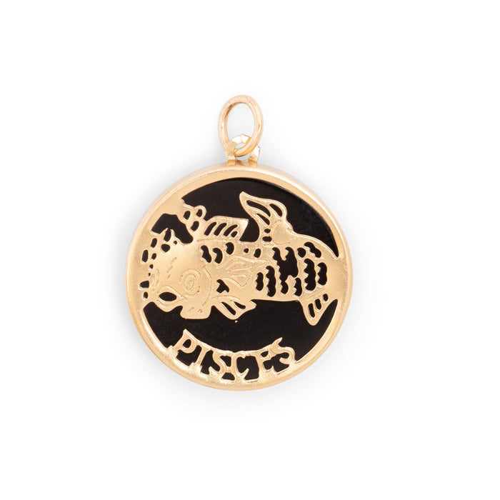Pisces 14K Gold Charm