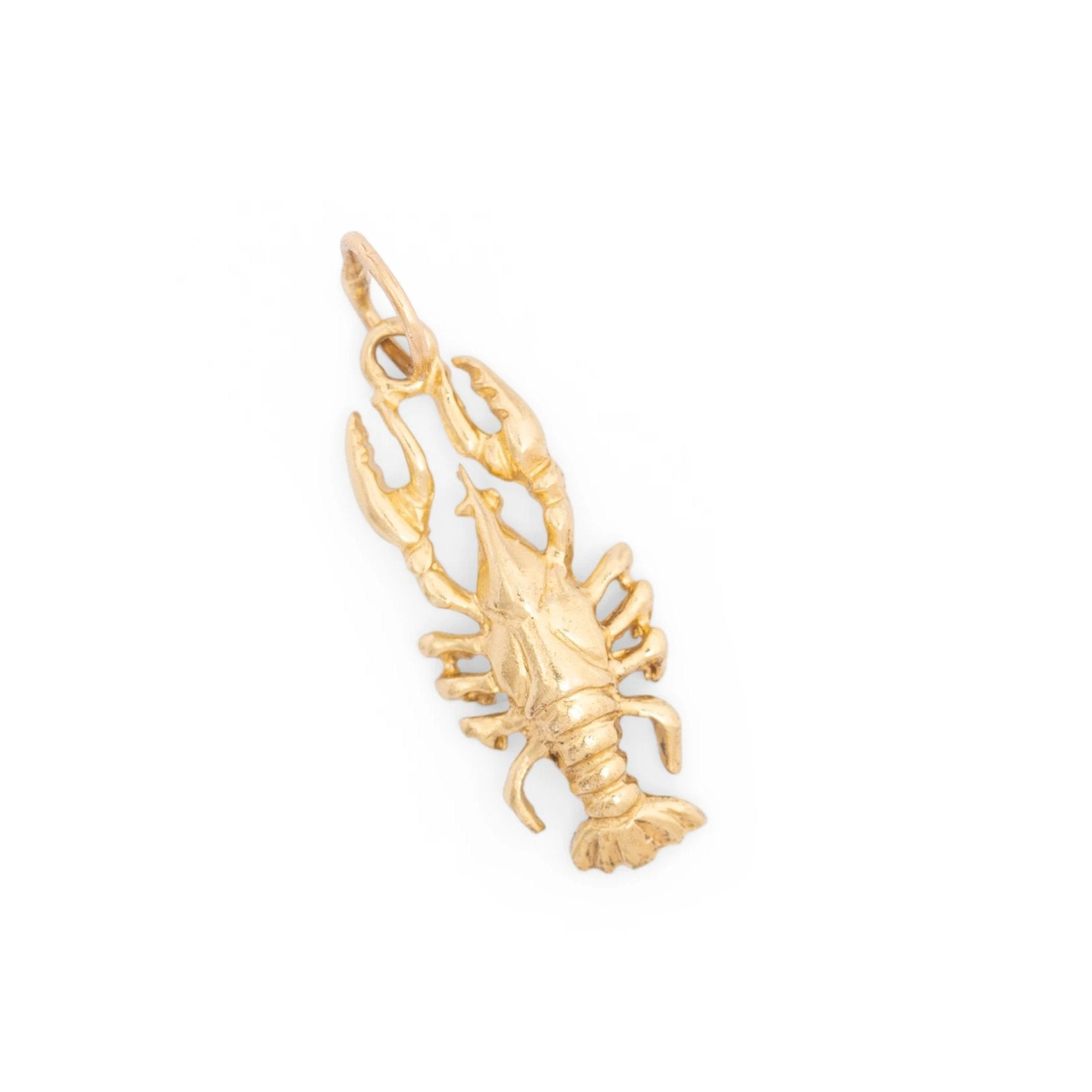 Crawfish 14K Gold Charm