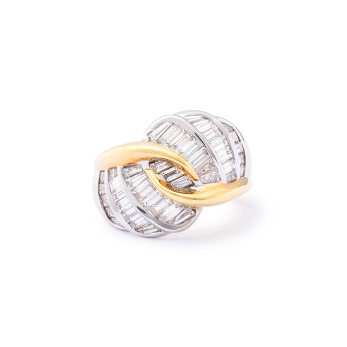 Luca Carati Italian Diamond 18k Gold Ring
