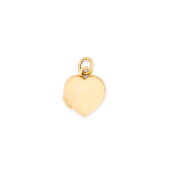 Petite 14k Gold Heart Locket