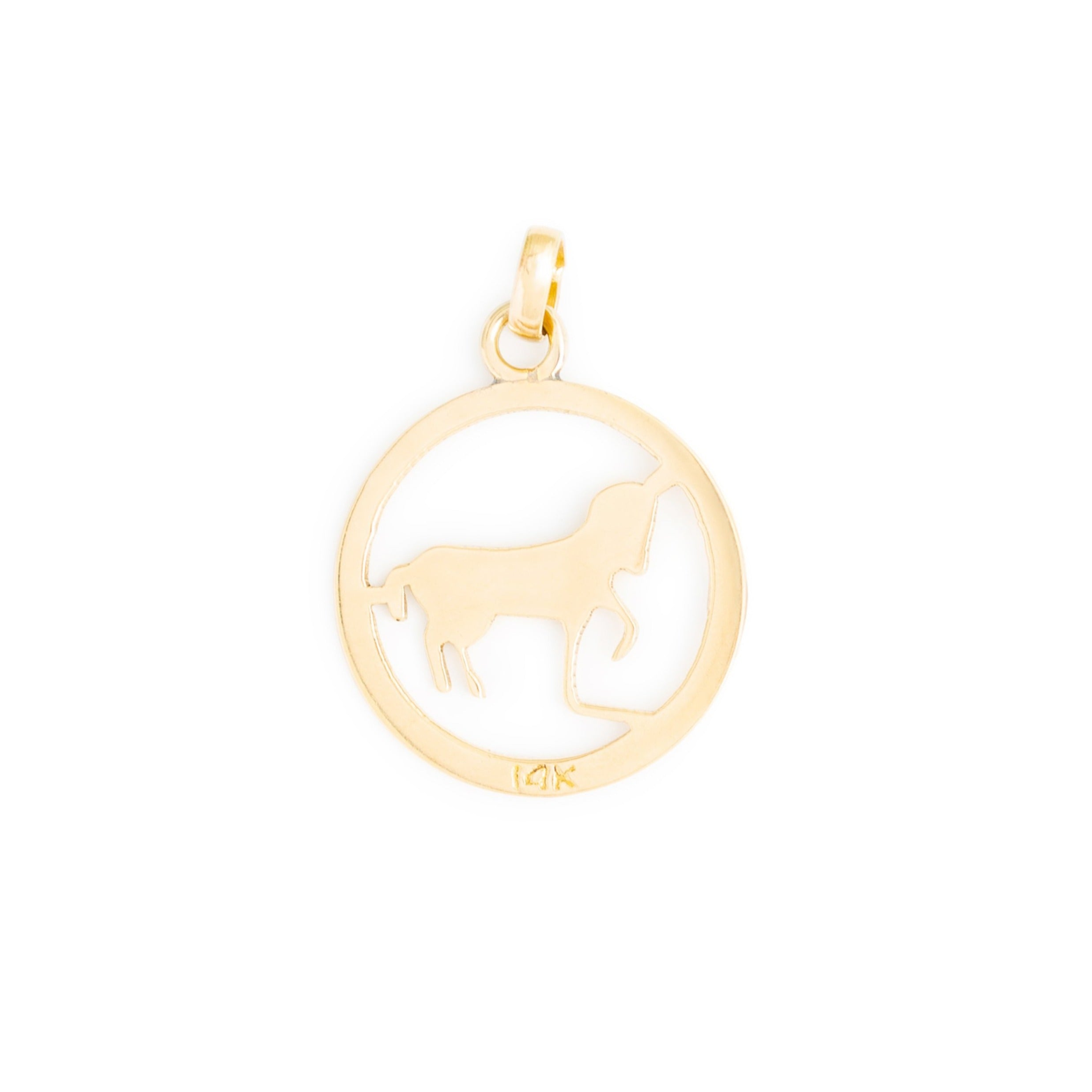 Aries 14k Gold Zodiac Charm
