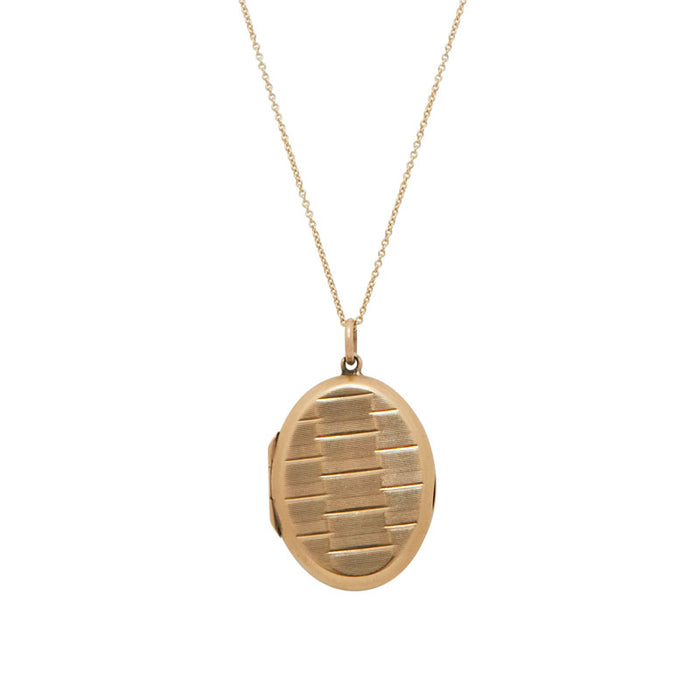 9k Yellow Gold Locket