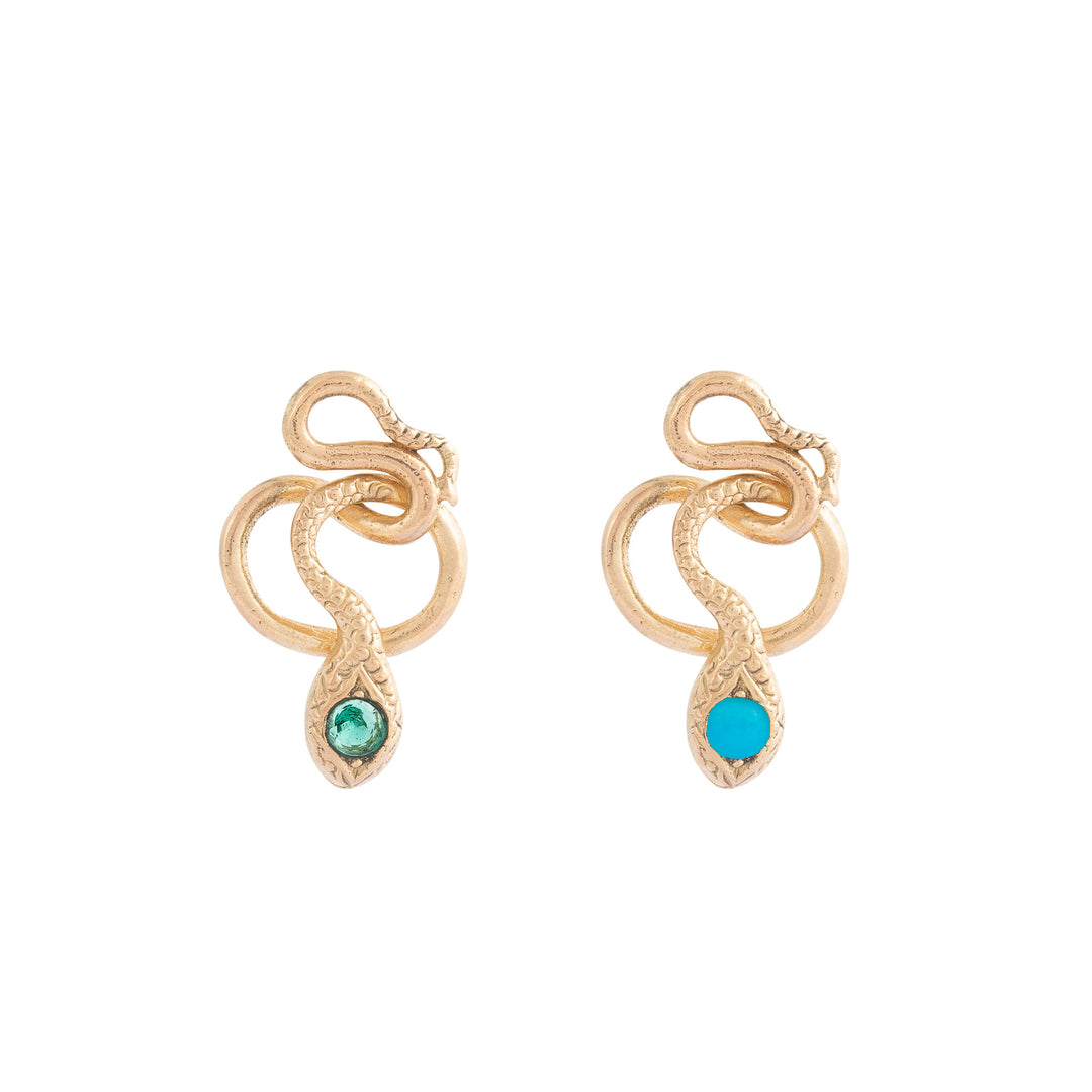 The F&B Snake Charmer Stud Earrings