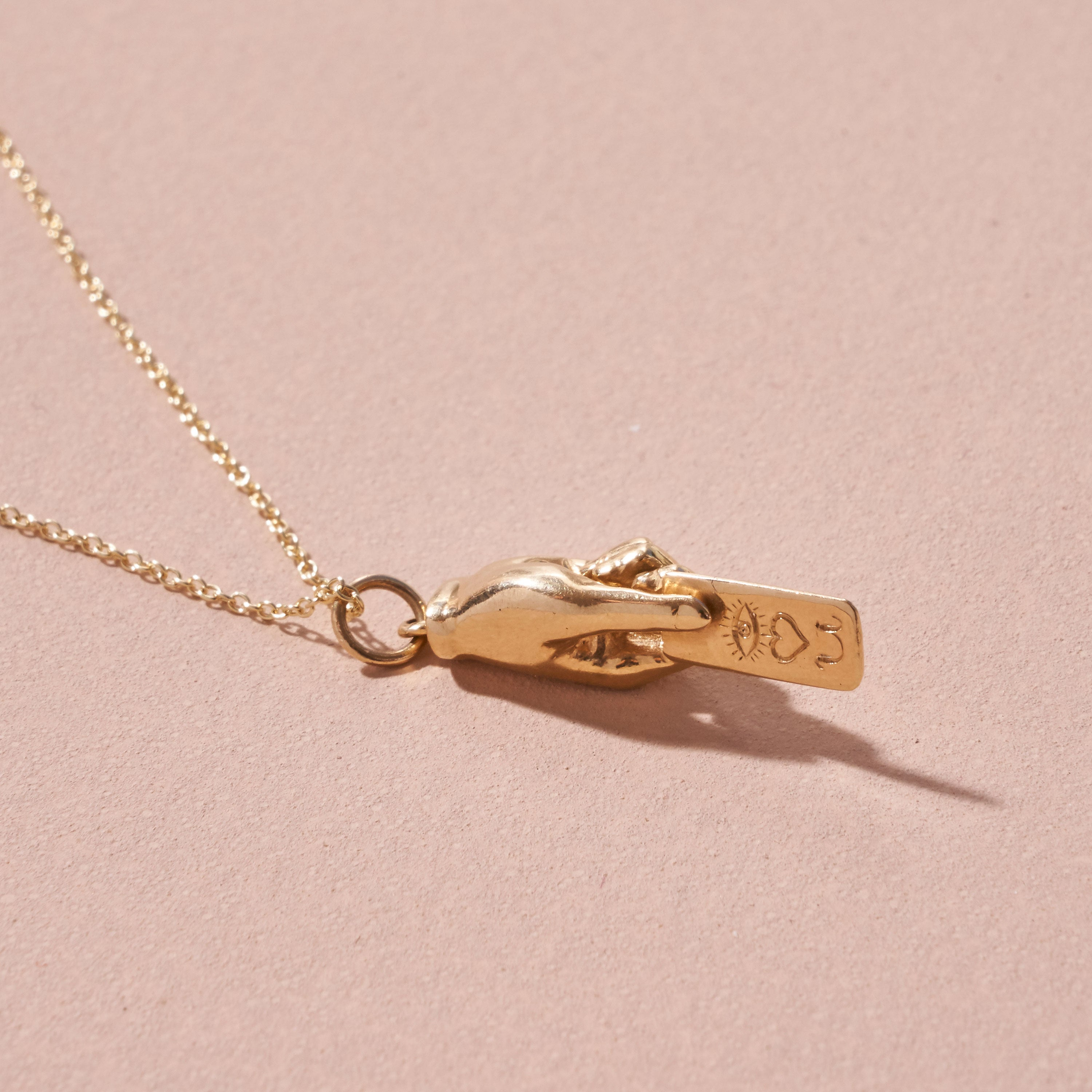 The F&B Love Letter Hand Charm