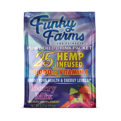 Funky Farms Drink Packet Berry 25mg
