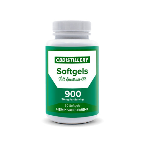 CBDistillery Softgels 900mg