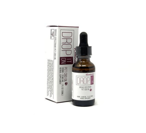 VC Naturalz - Drop It On - Broad Spectrum Pet CBD Oil