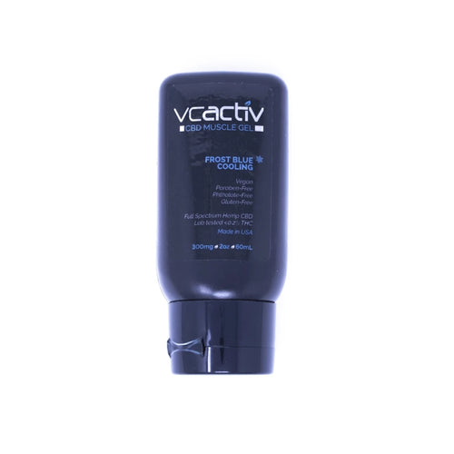 VCActiv - CBD Muscle Gel - Frost Blue