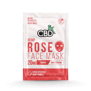 CBDfx - Face Mask - Rose