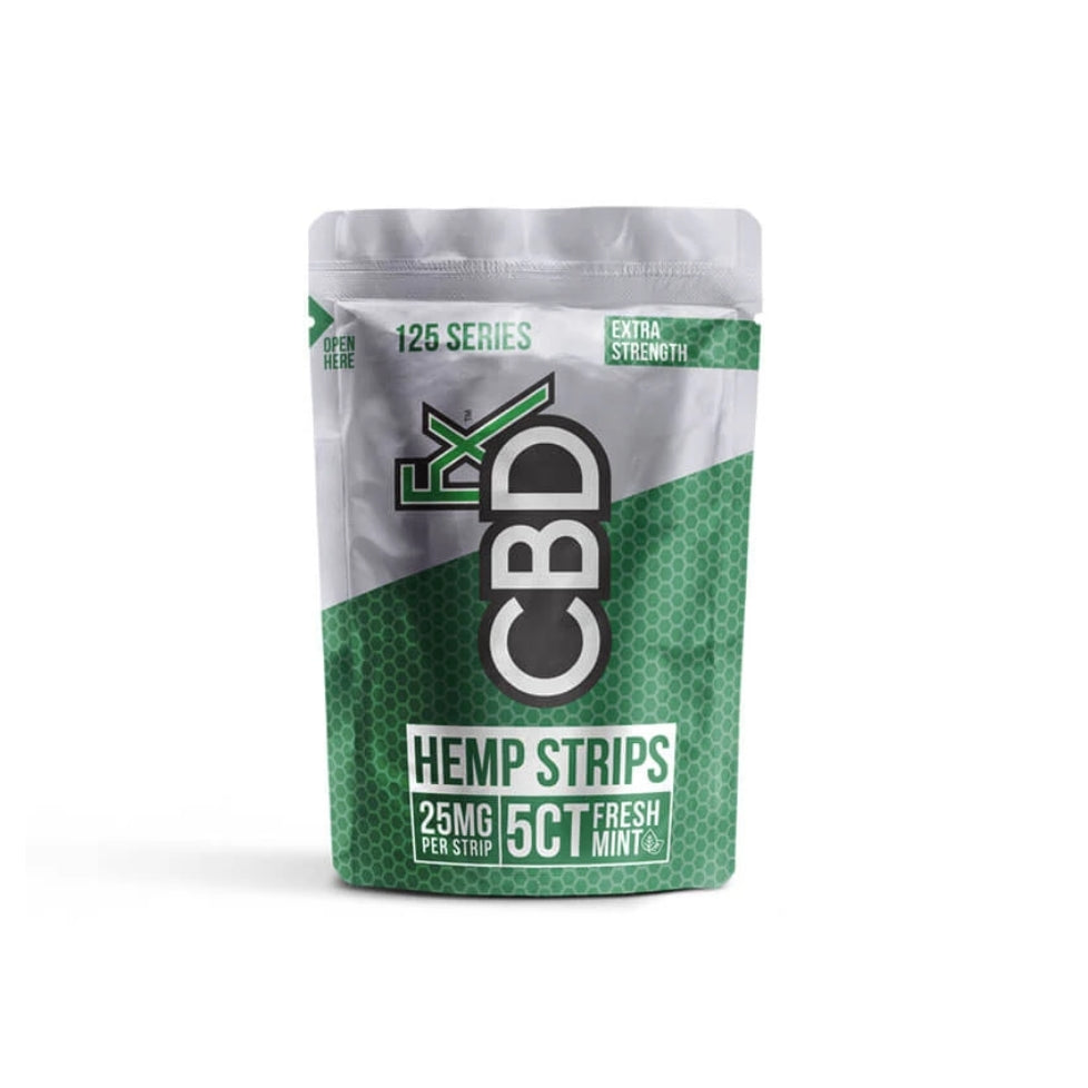 CBDfx - CBD Sublingual Strips (25mg)
