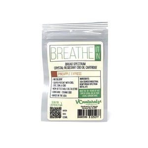 VC Naturalz - Breathe It In Broad Spectrum 250mg Cartridge