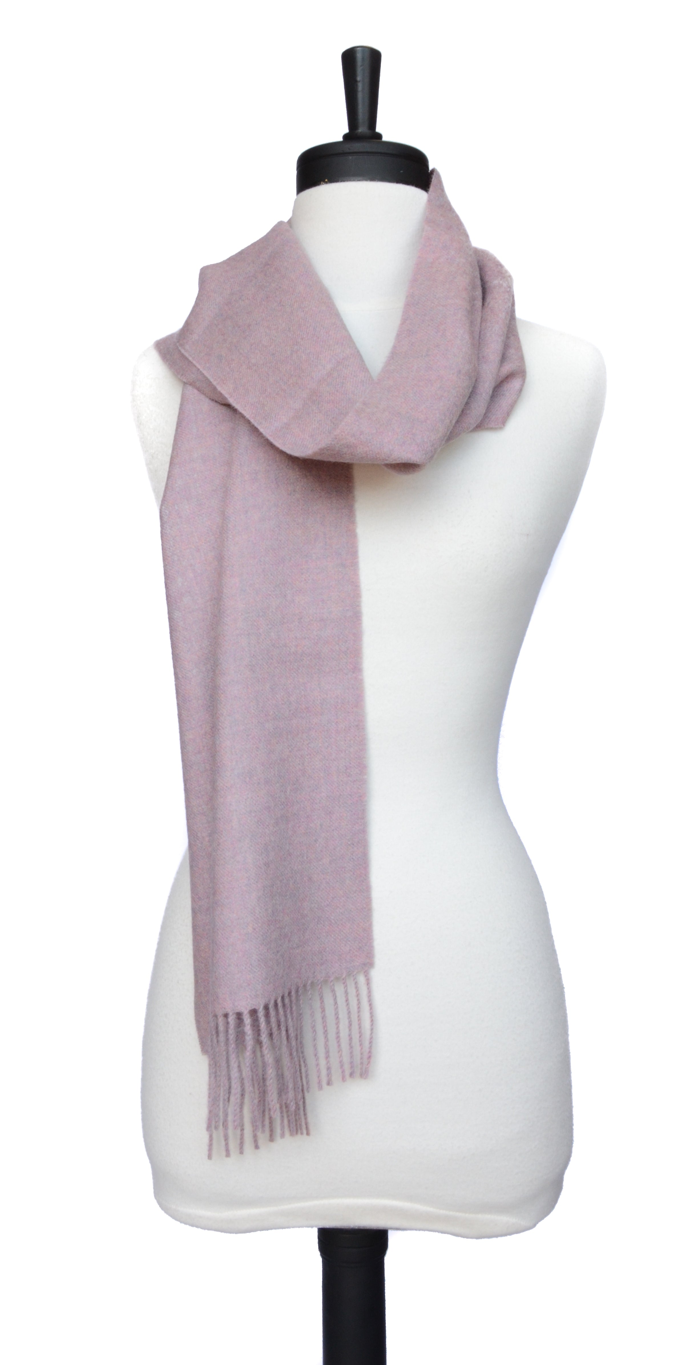 Solid Weave Brushed Scarf
