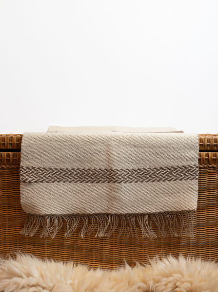 Hand Woven Reversible Twill Alpaca/Wool Rug