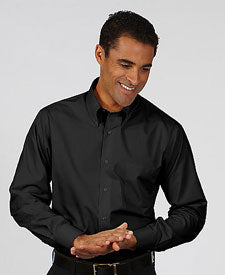 Van Heusen Men's Long Sleeve Silky Poplin 13V113