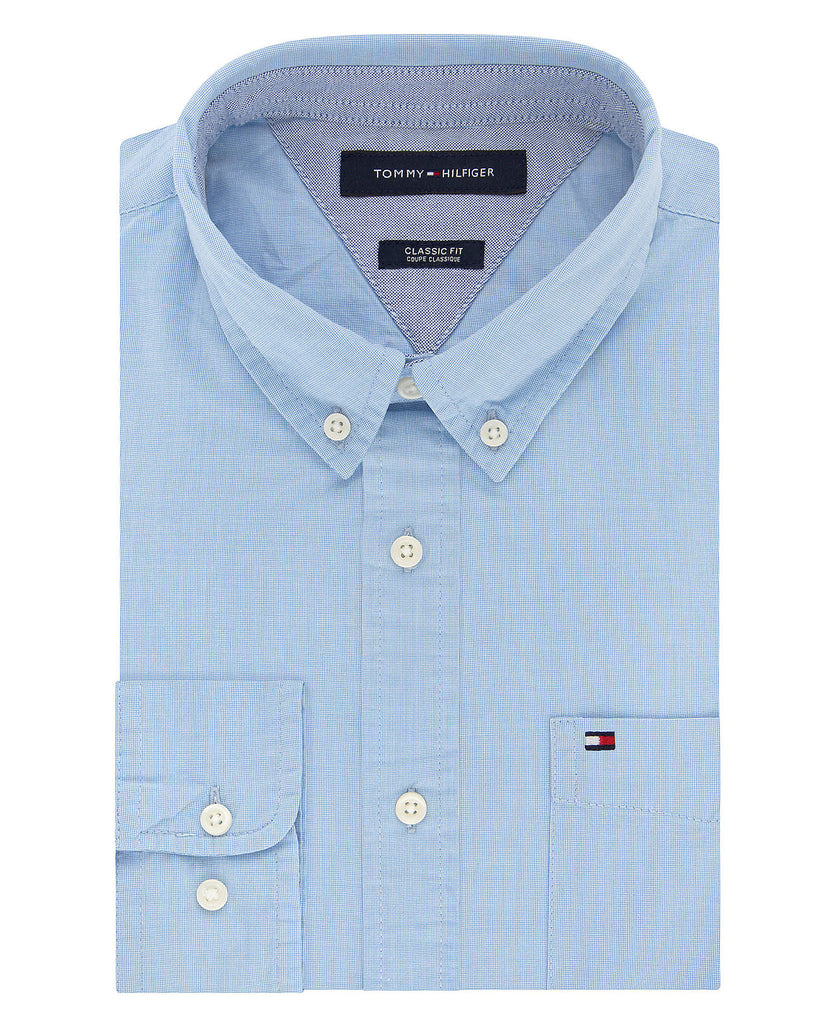 Tommy Hilfiger Men's 100% Cotton Chambray 13H1861