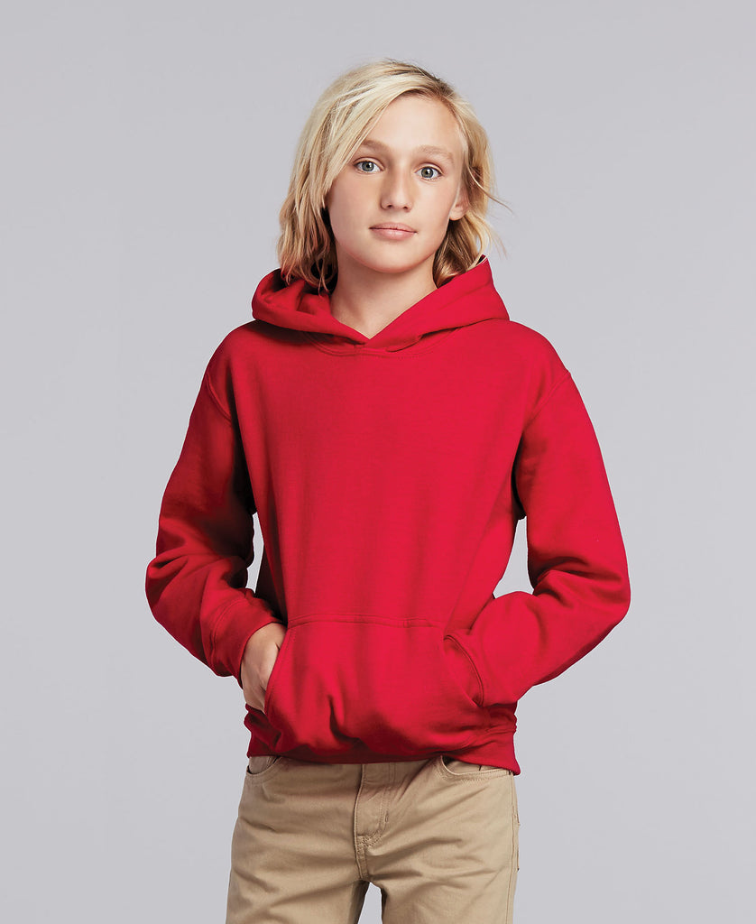 Gildan Heavy Blend Youth Hooded Sweatshirt 18500B - guyos apparel.com
