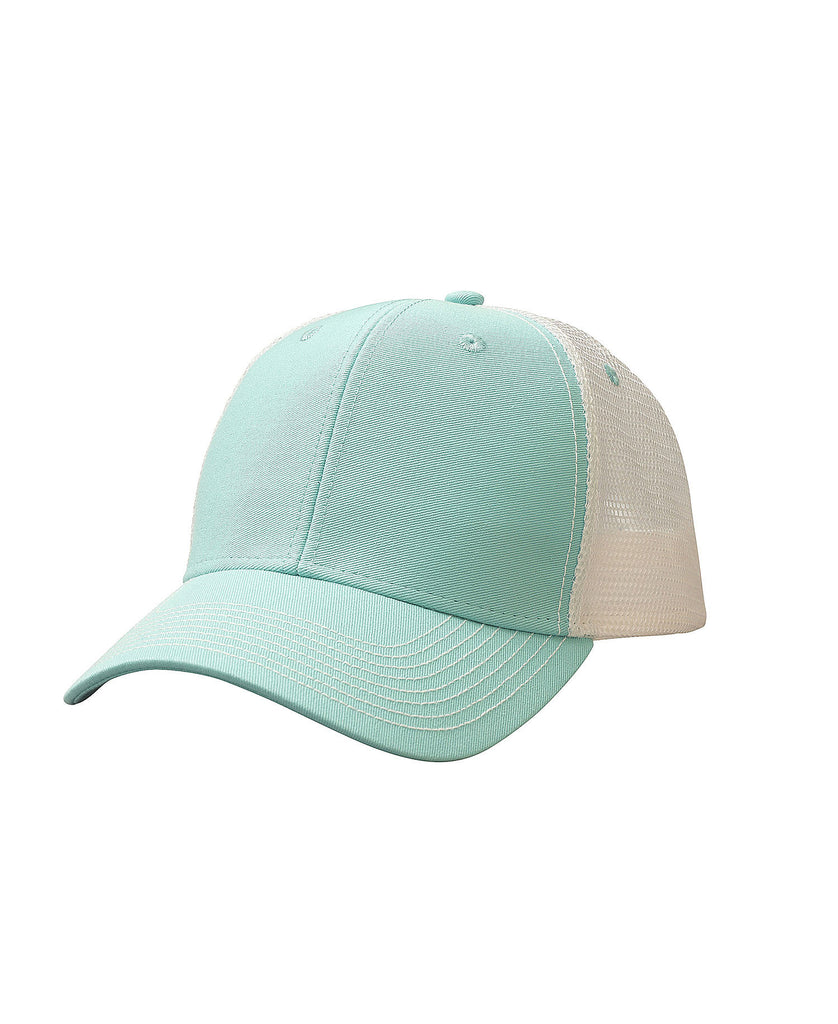 Ouray Sideline Contrast Stitch Mesh Cap 50004