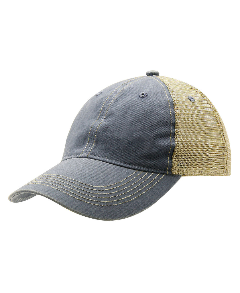 Ouray Legend Washed Cotton Vintage Mesh Back Cap 51286