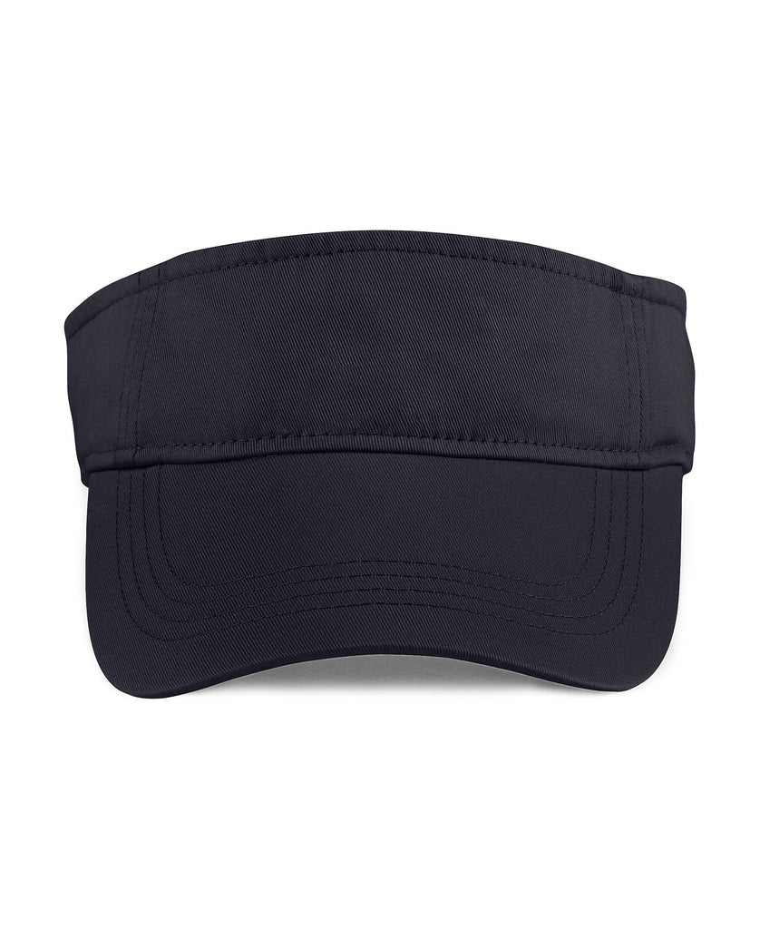 ANVIL Solid Low-Profile Twill Visor A158 - guyos apparel.com
