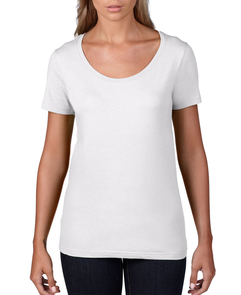 ANVIL Women's Featherweight Scoop Tee A391 - guyos apparel.com