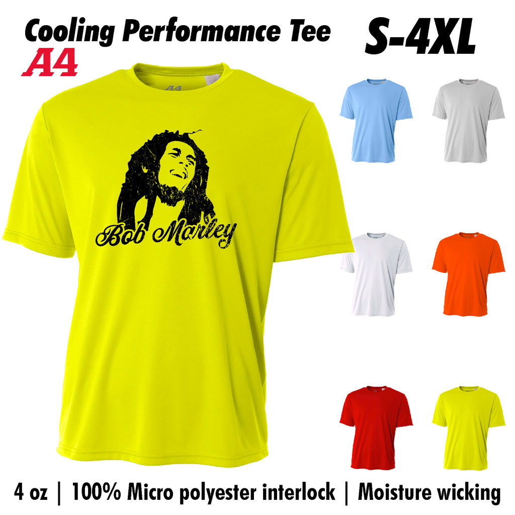New Bob Marley Cooling Performance t shirt Moisture wicking tee