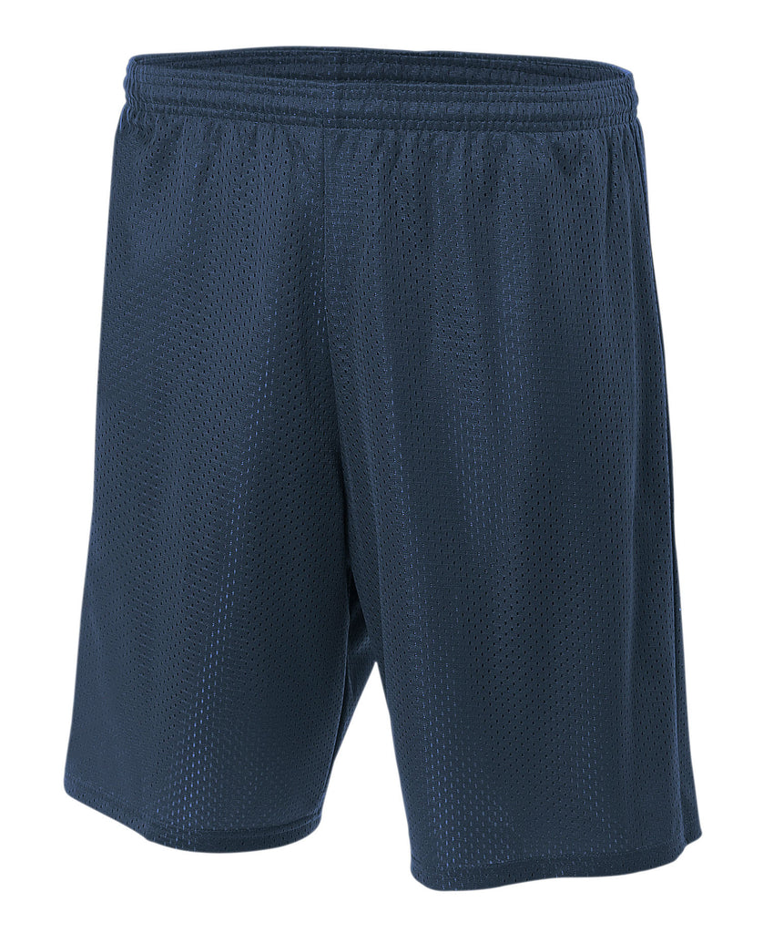 "A4 Youth 6"" Lined Tricot Mesh Short A4NB5301 - guyos apparel.com"