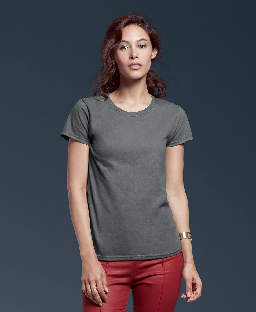 ANVIL Women's Midweight Mid-Scoop Tee A780L - guyos apparel.com