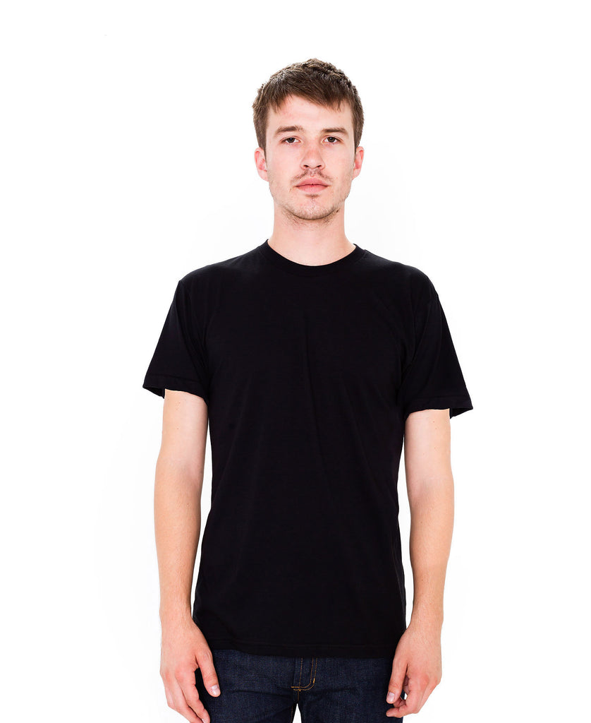 American Apparel Unisex USA Poly/Cotton Crew Neck Tee AABB401 - guyos apparel.com