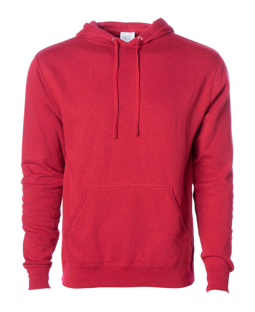 Independent Adult Lightweight Fitted Pullover Hooded Fleece AFX400 - guyos apparel.com
