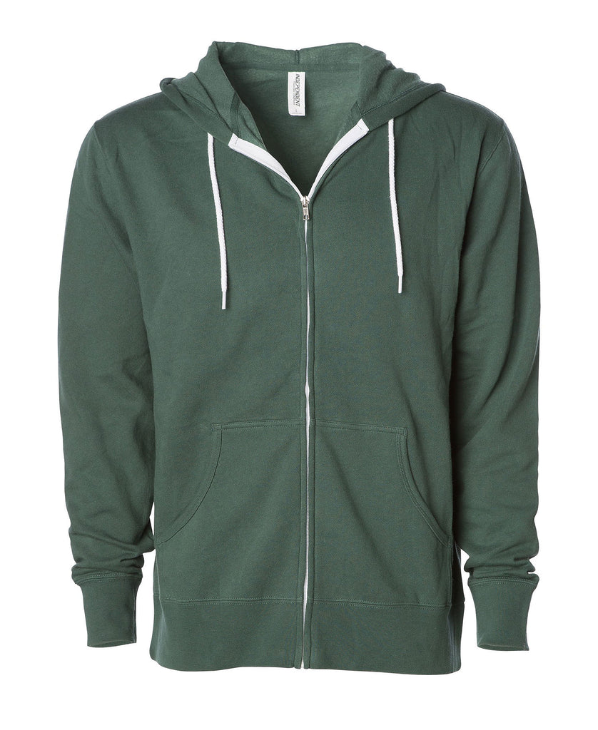 Independent Adult Zip Hooded Fleece AFX90U - guyos apparel.com