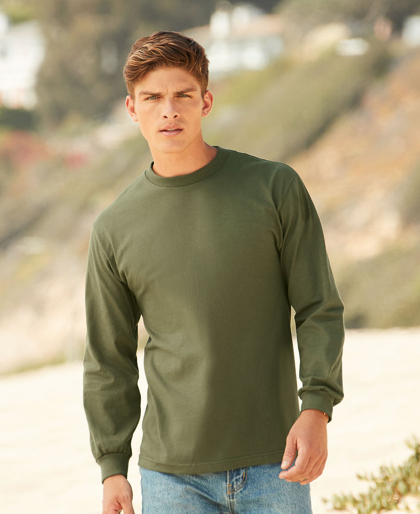 Alstyle Classic Adult Long Sleeve Tee AL1304 - guyos apparel.com