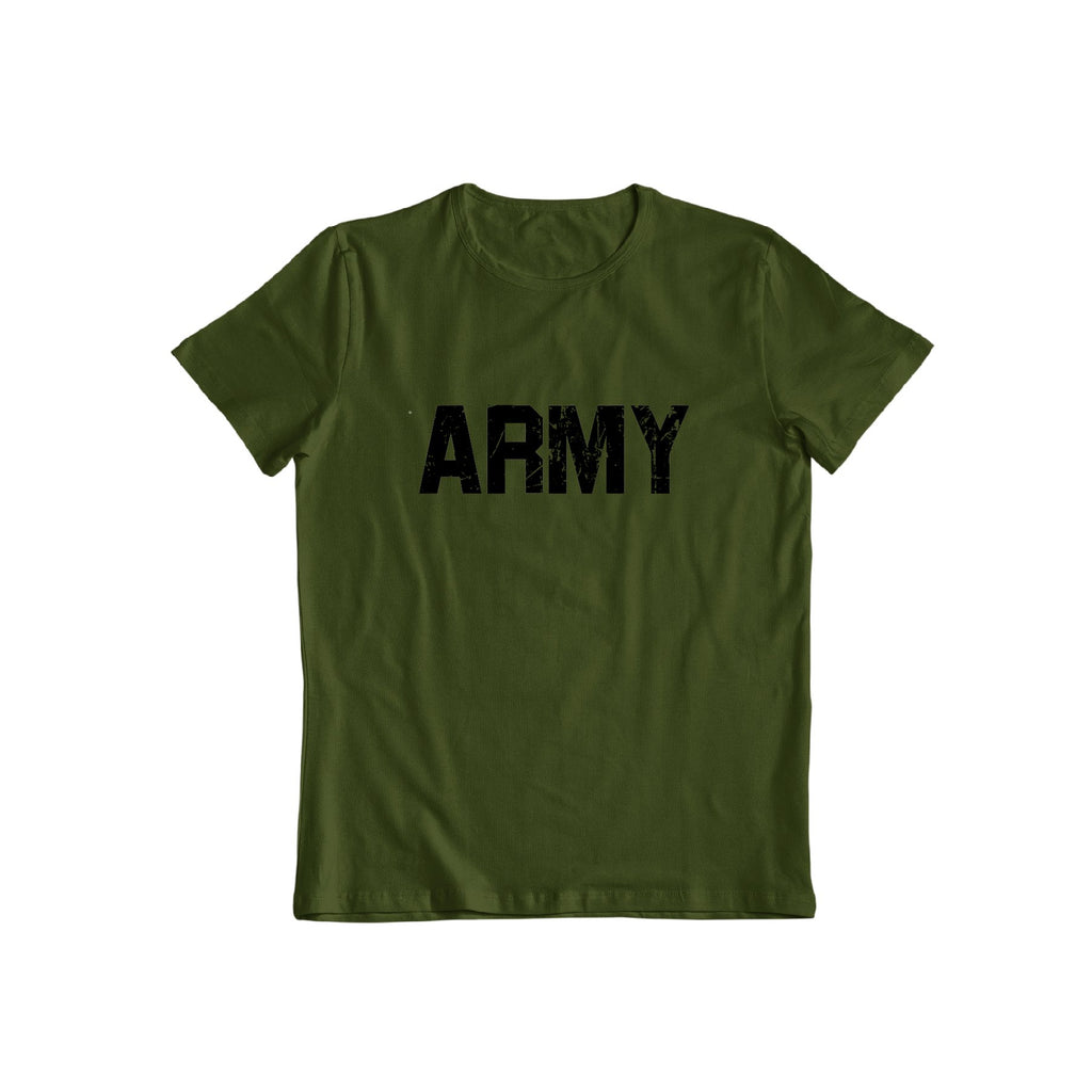 Distressed Army T shirt
