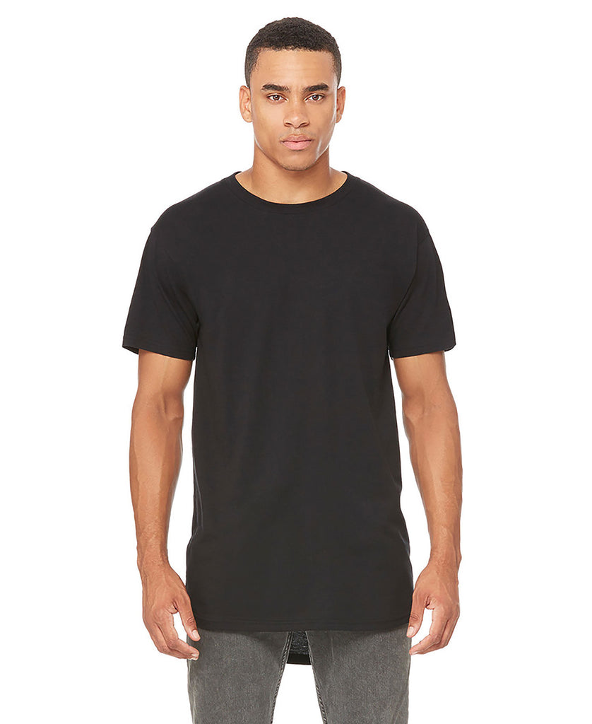 BELLA CANVAS Mens Long Body Urban Tee B3006 - guyos apparel.com