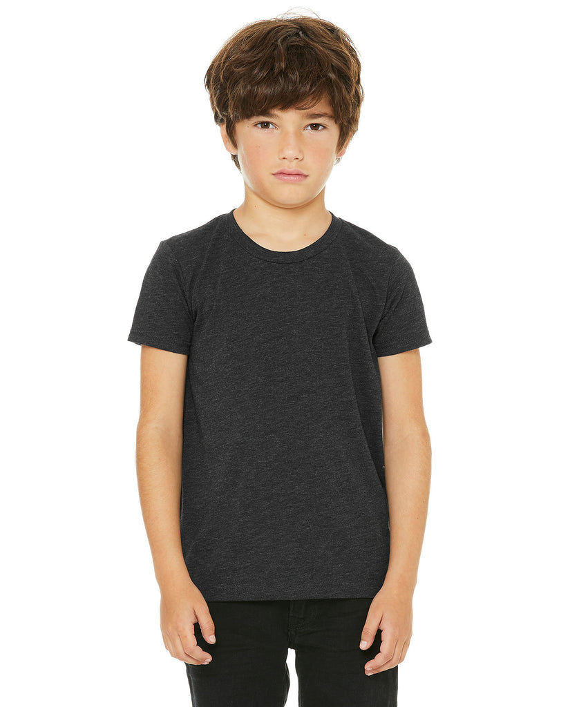 BELLA CANVAS Youth Triblend Short Sleeve Tee B3413Y - guyos apparel.com