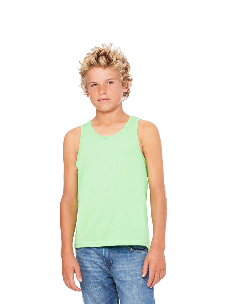 BELLA CANVAS Youth Jersey Tank B3480Y - guyos apparel.com