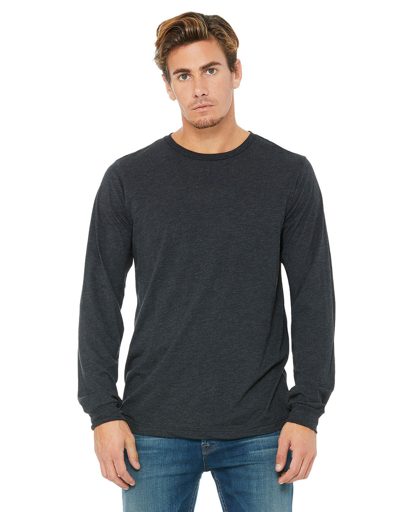 BELLA CANVAS Unisex Jersey Long Sleeve Tee B3501 - guyos apparel.com