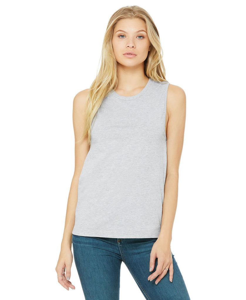 BELLA CANVAS Women's Jersey Muscle Tank B6003 - guyos apparel.com