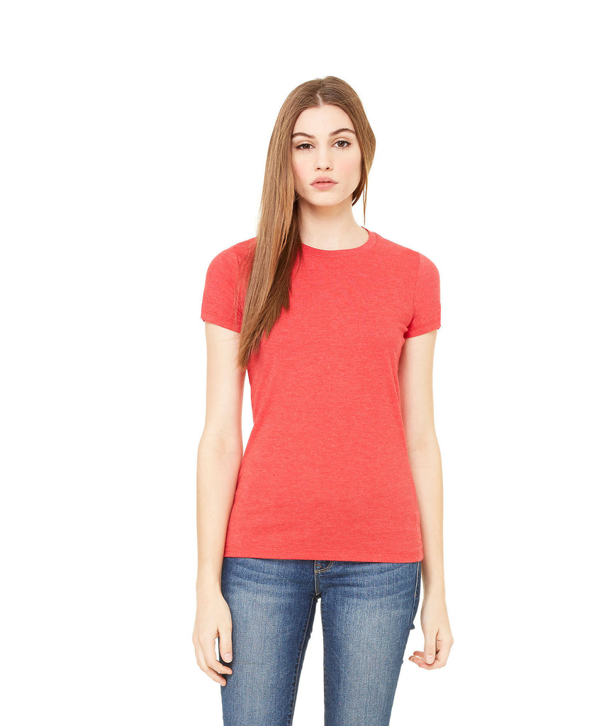 BELLA CANVAS Women's The Favorite Tee B6004 - guyos apparel.com