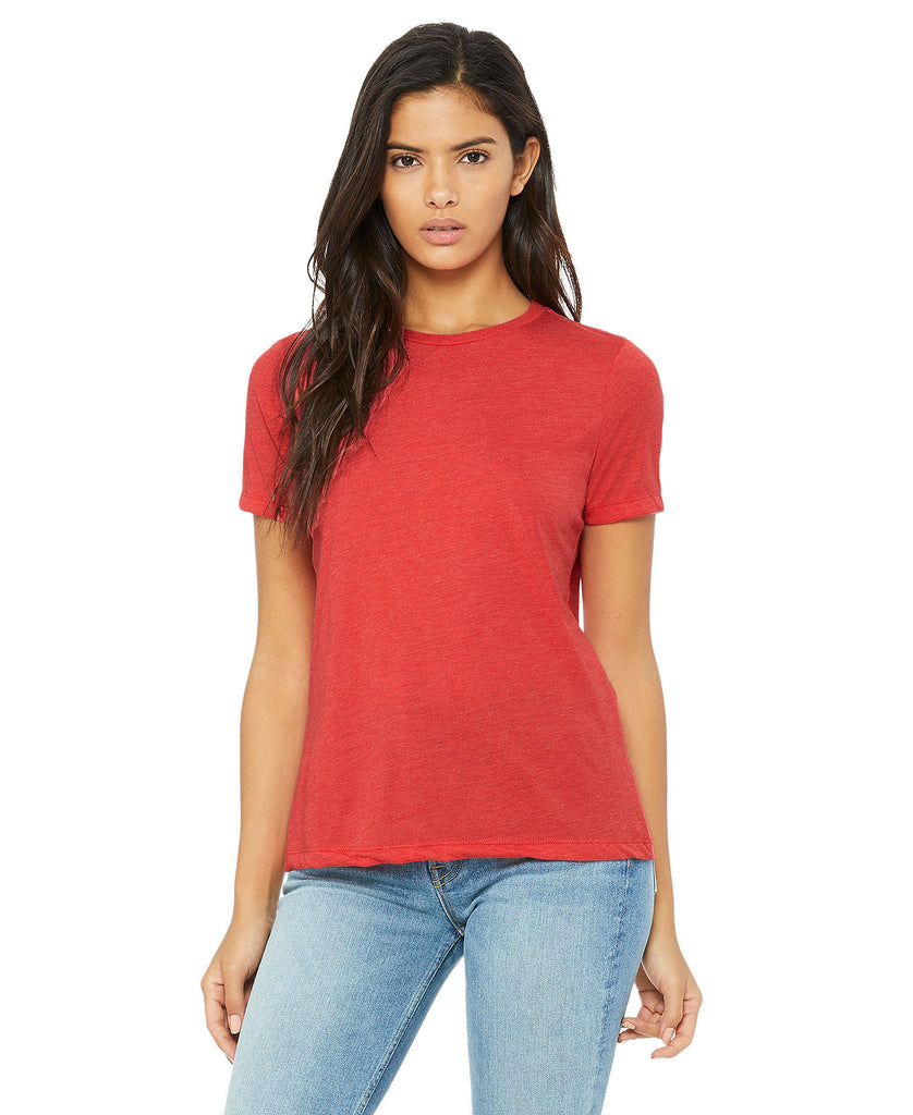 BELLA CANVAS Women's Relaxed Jersey Short Sleeve Tee B6400 - guyos apparel.com