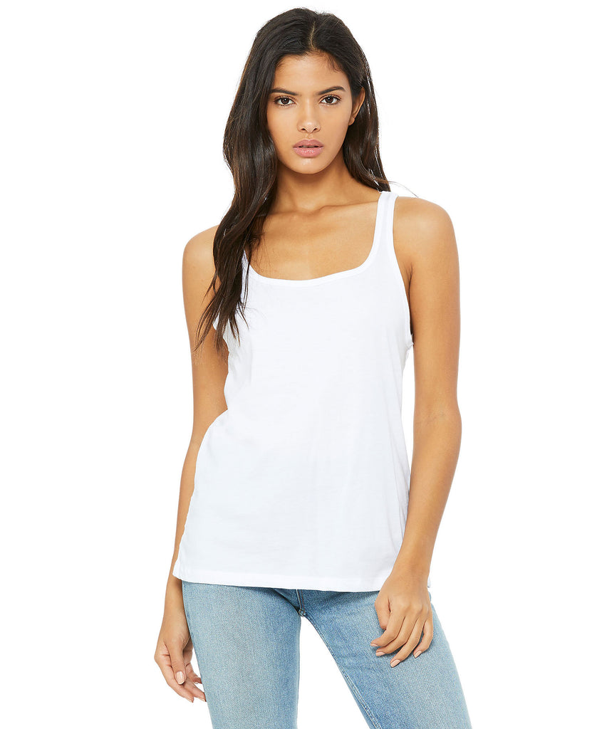 BELLA CANVAS Women's Relaxed Jersey Tank B6488 - guyos apparel.com