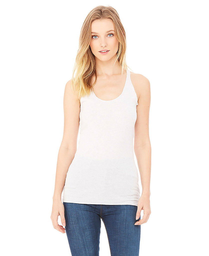 BELLA CANVAS Women's Triblend Racerback Tank B8430 - guyos apparel.com